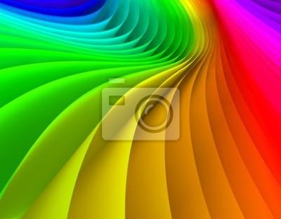 abstrakten Hintergrund der Wellen von Farben