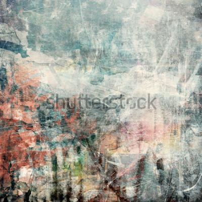 Bild Abstrakter grunge Hintergrund, verkratzte Beschaffenheit