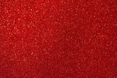 Bild Abstrakter Hintergrund des schönen roten Glitzermakros mit Bokeh