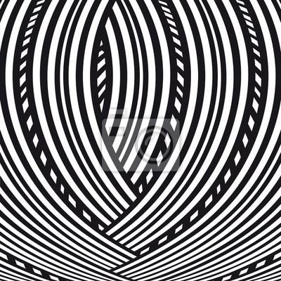 6280bbd2bfca3 Abstrakter hintergrund. schwarz-weiß-muster. leinwandbilder • bilder ...