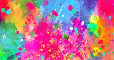Bild Abstrakter Hintergrund von Farbflecken von Farben