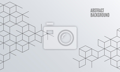 Bild Abstrakter Kastenhintergrund des Vektors. Quadratmasche.