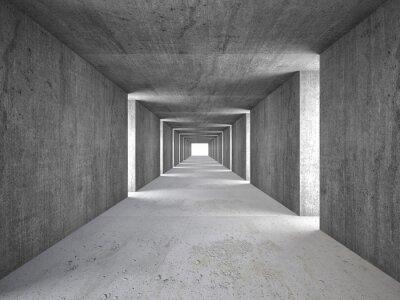 Bild abstrakter Tunnel