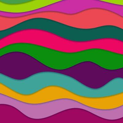Bild Abstrakter wellenförmiger Hintergrund