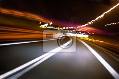 abstraktes Bild von Straße