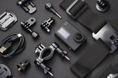 Bild Action camera and accessories.