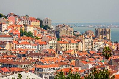 Bild Aerial view of Lisbon, Portugal