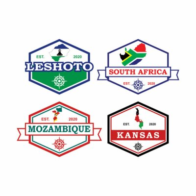 Bild Africa Map Vector , Country Logo