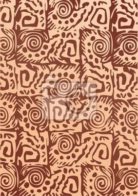 Afrikanischen Batik