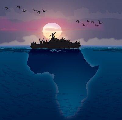 Bild Afrique - Auswanderung
