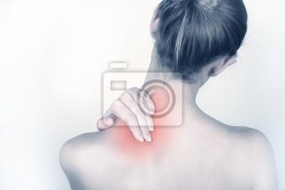 Bild Akute Nackenschmerzen