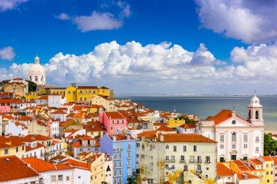 Bild Alfama Lisbon Cityscape
