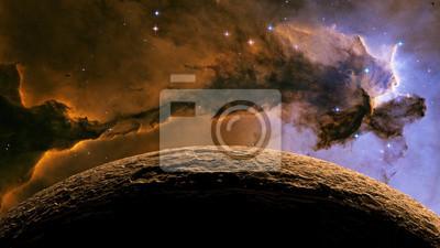 Alien Exo Planet Elemente dieses Bildes von der NASA