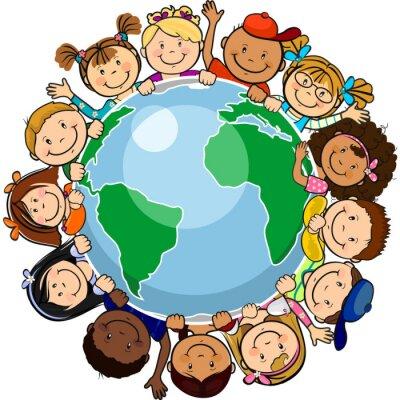 Bild Alle vereint in der Welt