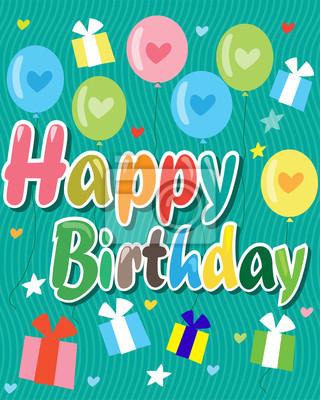 Alles Gute Zum Geburtstag Alles Gute Zum Geburtstag Karte Mit