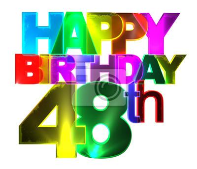 Geburtstag frau 48 einer GEBURTSTAGWÜNSCHE für