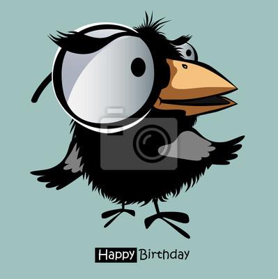 Spiel Alte Vogel Huhn Karte Lustige Geburtstag Freundschafts