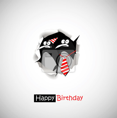 Alles Gute Zum Geburtstag Pinguin Lacheln Lustig Grusse