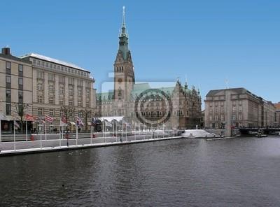 Alsterufer in Hamburg