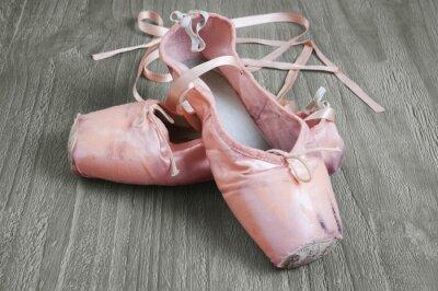 Bild alt rosa Ballettschuhe