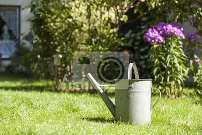Alte Gießkanne Im Garten Leinwandbilder Bilder Bewässern Können