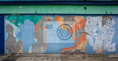 Alte Grunge-Wand-Textur. Abstrakt mehrfarbigen Hintergrund.