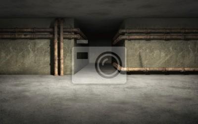 Bild Alte Industrie-Keller Hintergrund