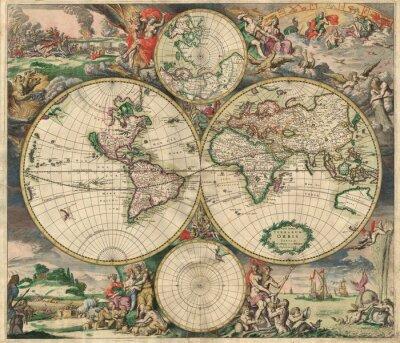 Bild Alte Karte (1689)