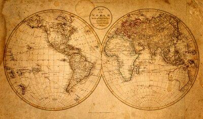 Bild alte Karte 1799