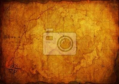 Alte Karte. Old Paper Texture