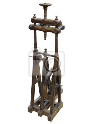 Bauer Altes Spinnrad Holz Mit Spindeln Spulen Werkzeuge