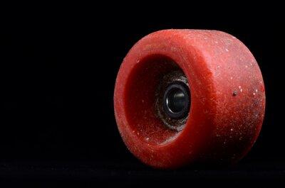 Bild Alte Weinlese Verbrauchte Skate-Rad