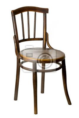 Bild alten hölzernen Stuhl