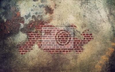 Bild alten Mauer