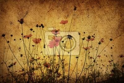 Bild altmodische künstlerische Blüte