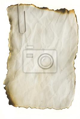 Bild Altpapier Querformat für Hintergrund und Noten