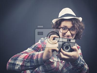 Amateurfotografen schießen