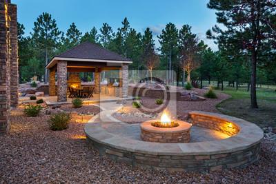 Bild Amazing Outdoor Living Space