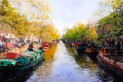 Bild Amsterdam-Kanal