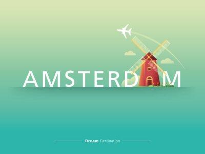 Bild Amsterdam Typografie