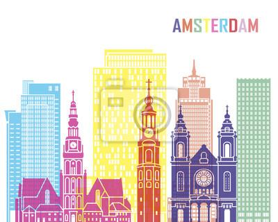 Bild Amsterdam_V2 Skyline Pop