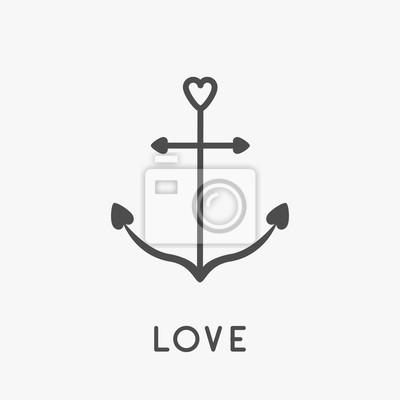 Bedeutung liebe symbol anker Lenormandkarte Der