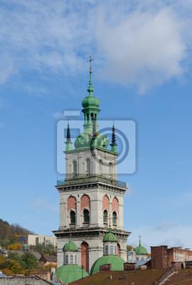 Annahme-Kirche, Kontrollturm Kornyakta, Lviv