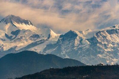 Bild Annapurna Bereich bei Sonnenaufgang