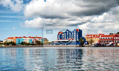Bild Ansicht von Otrobanda Viertel in Willemstad, Curaçao