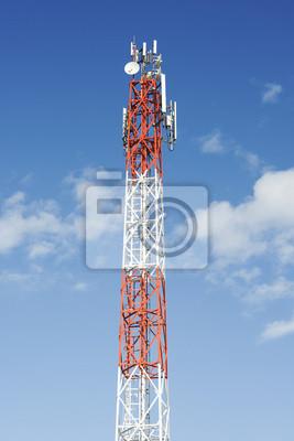 Bild Antennenmast für Kommunikation