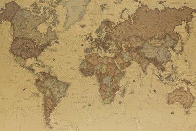 Bild Antike Weltkarte