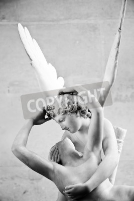 Bild Antonio Canova's statue Psyche Revived by Cupid's Kiss, first commissioned in 1787, exemplifies the Neoclassical devotion to love and emotion