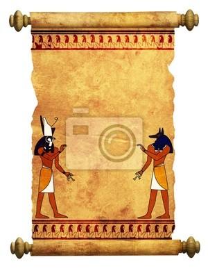 Anubis und Horus