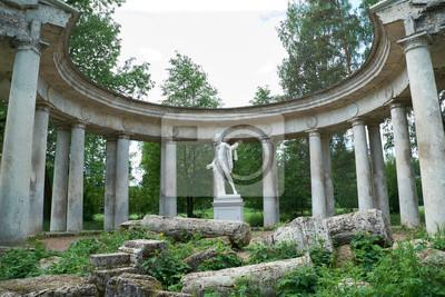 Apollo-Kolonnade in Pawlowsk, St. Petersburg